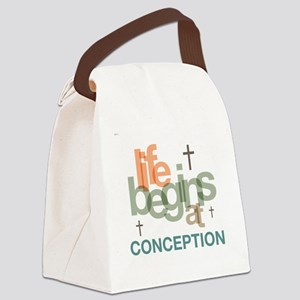 oct_life_conception Canvas Lunch Bag